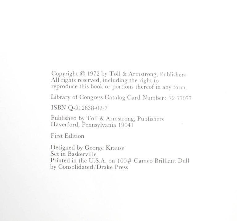"""""""George Krause-1,"""" First Edition Book 10"""
