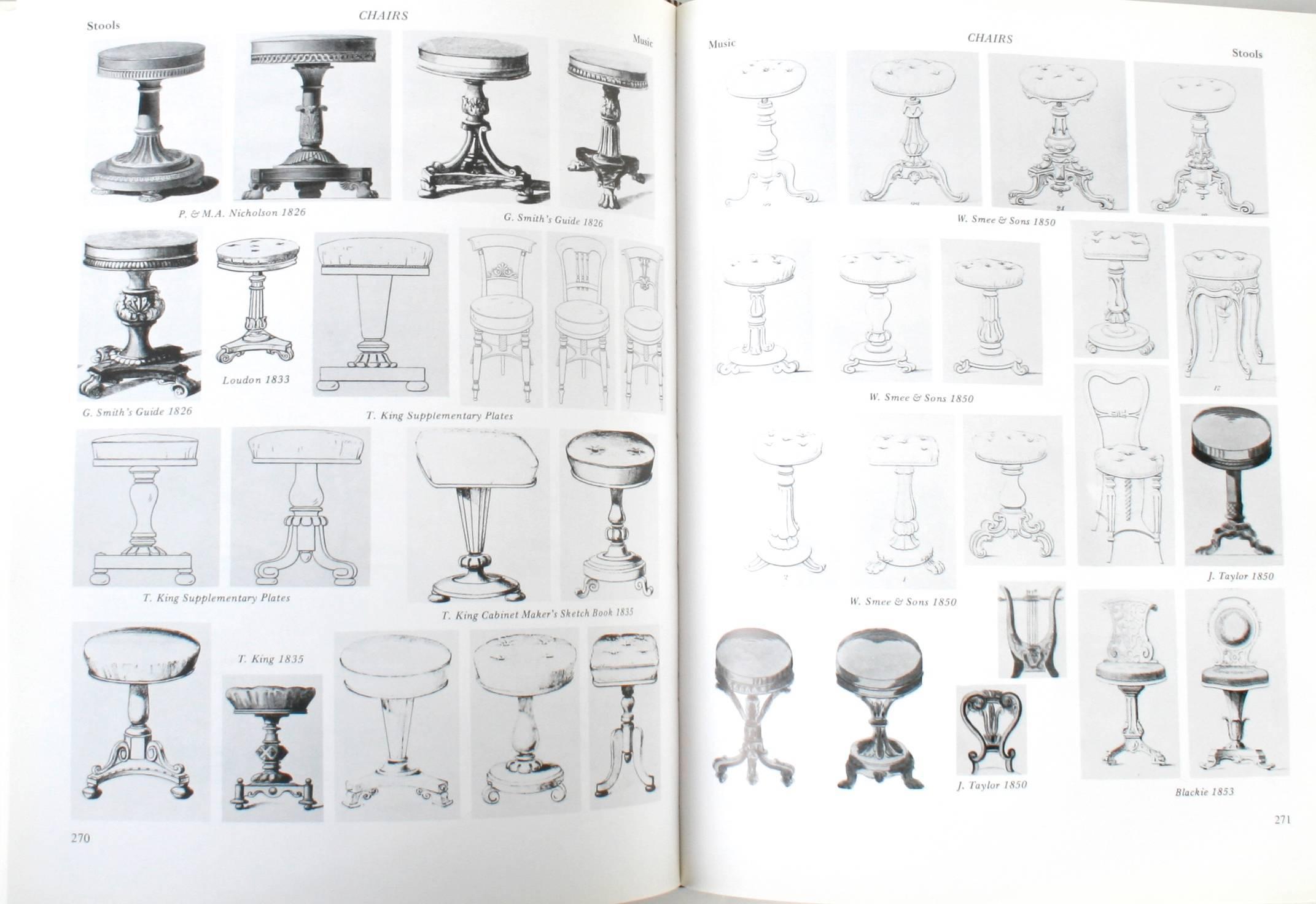 Pictorial Dictionary Of British 19th Century Furniture Design. Woodbridge:  The Antique Collectorsu0027 Club