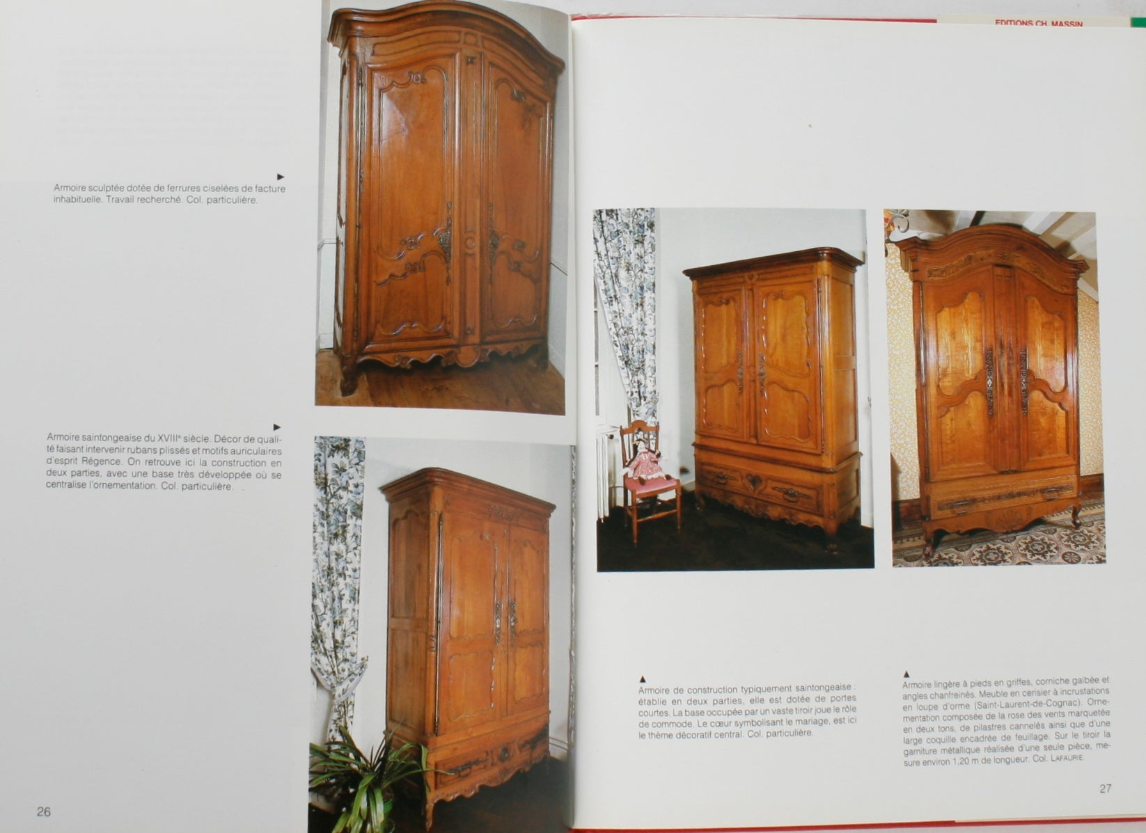Mobilier Vendeen Aunis Saintonge By Lucile Oliver 1st Edition At