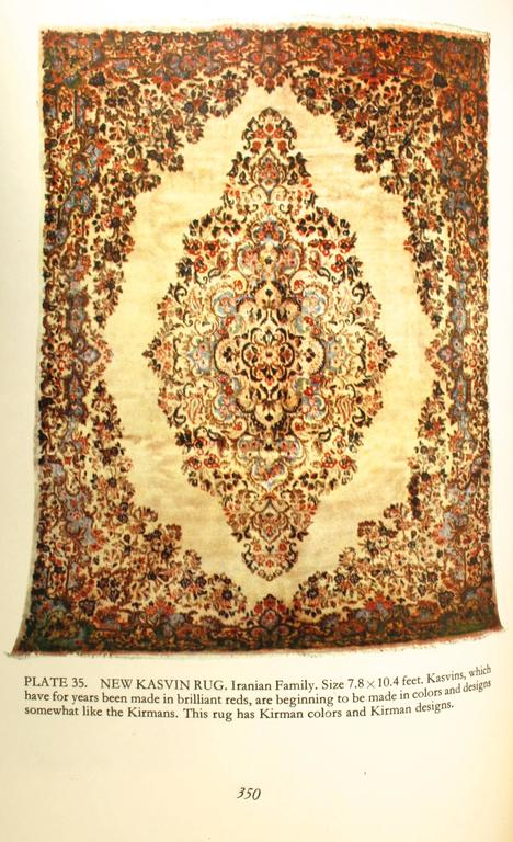 Paper Oriental Rugs, a Complete Guide by Charles W. Jacobsen, Signed First Edition For Sale