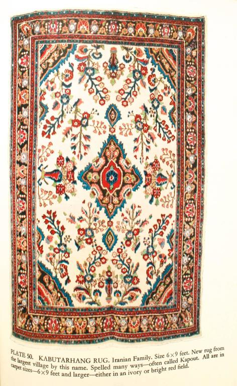 Oriental Rugs, a Complete Guide by Charles W. Jacobsen, Signed First Edition For Sale 2