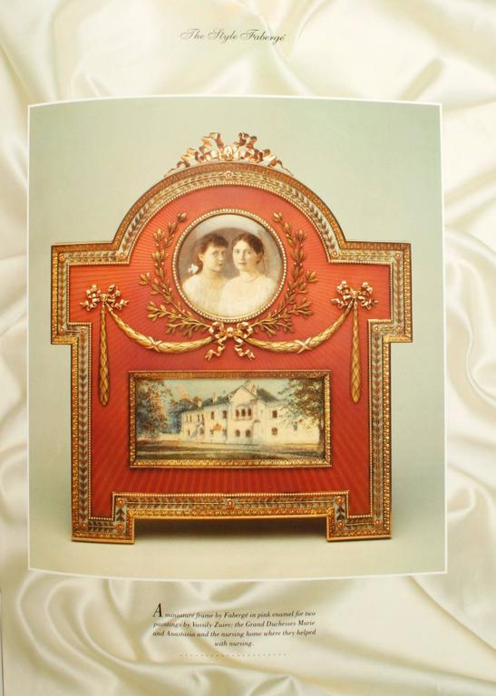 Art of Fabergé by John Booth, First Edition In Excellent Condition For Sale In valatie, NY