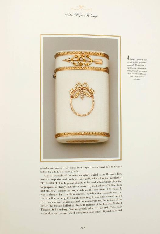 Paper Art of Fabergé by John Booth, First Edition For Sale