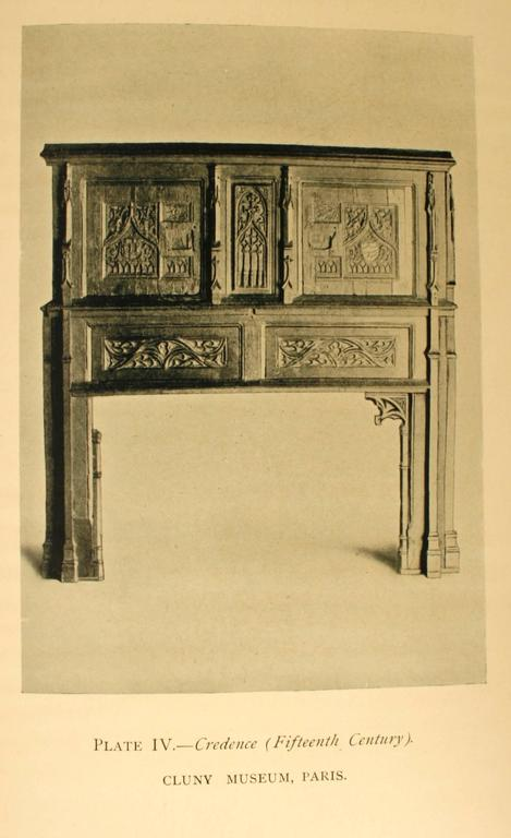 Dutch and Flemish Furniture by Esther Singleton, First Edition In Good Condition For Sale In valatie, NY