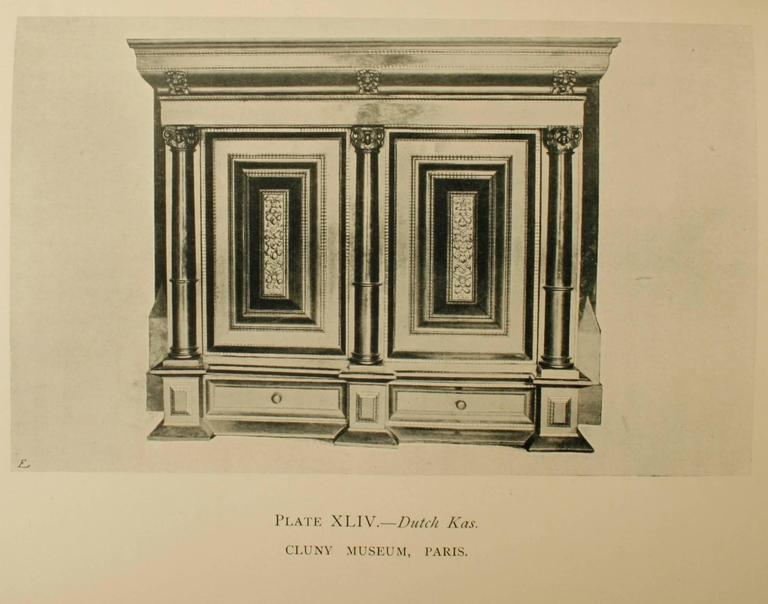 Dutch and Flemish Furniture by Esther Singleton, First Edition For Sale 2