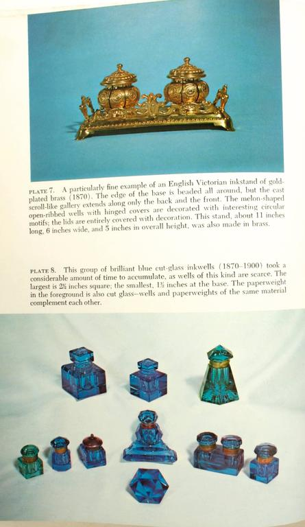 Inkstands and Inkwells, A Collector's Guide, First Edition In Good Condition For Sale In valatie, NY