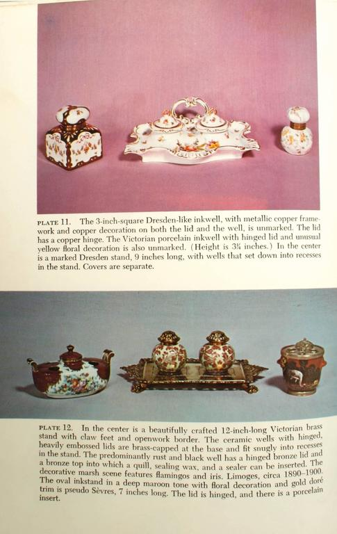 20th Century Inkstands and Inkwells, A Collector's Guide, First Edition For Sale