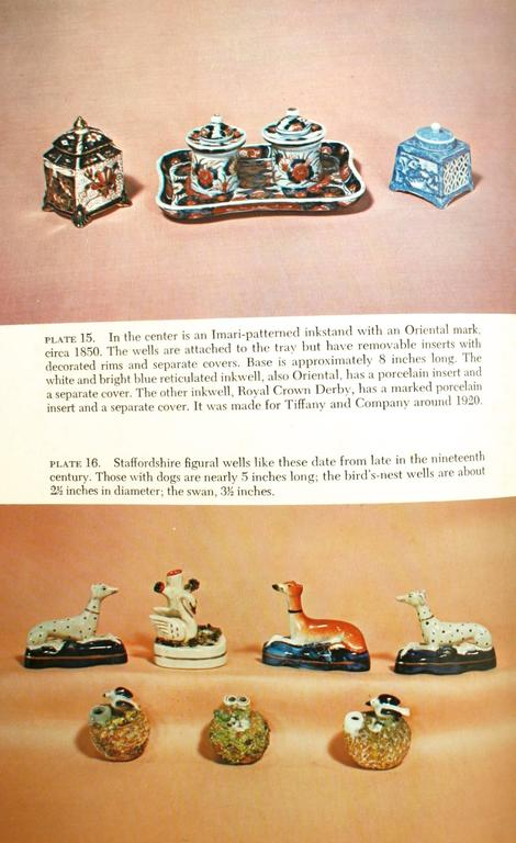 Inkstands and Inkwells, A Collector's Guide, First Edition For Sale 1