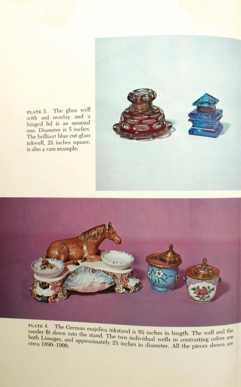 Inkstands and Inkwells, A Collector's Guide, First Edition For Sale 2