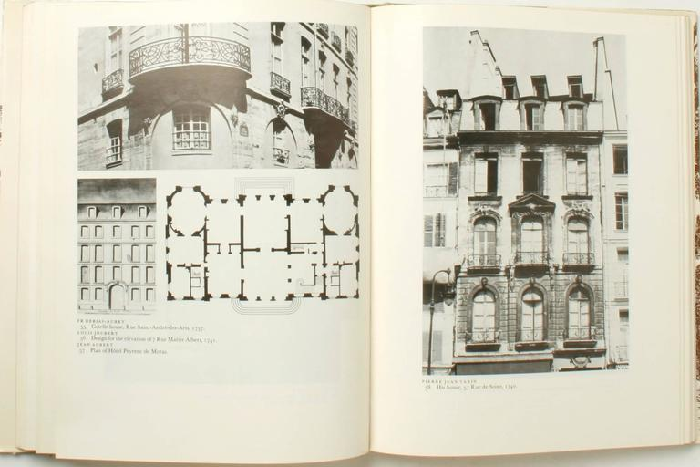 Stately Mansions, 18th century Paris Architecture by Michel Gallet. NY: Praeger Publishers,1972. First Edition hardcover with dust jacket. 196 pp. A history of the mansion in 18th century Paris starting with an overview of 18th century Paris at a