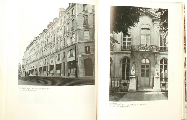 American Stately Mansions, 18th Century Paris Architecture, First Edition For Sale