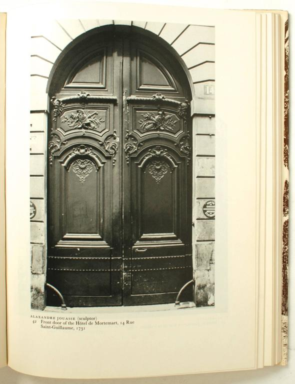Paper Stately Mansions, 18th Century Paris Architecture, First Edition For Sale