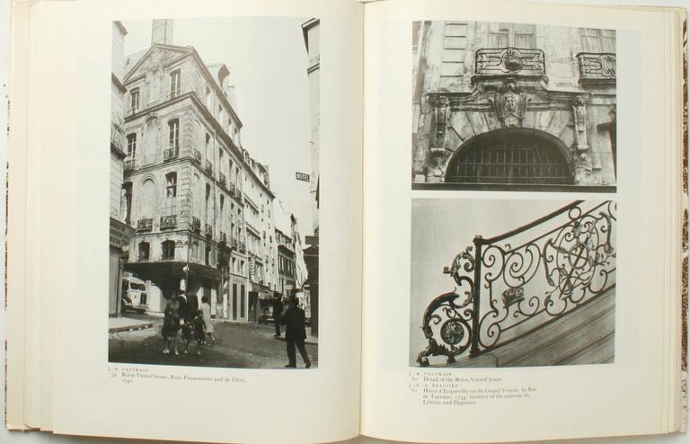 20th Century Stately Mansions, 18th Century Paris Architecture, First Edition For Sale