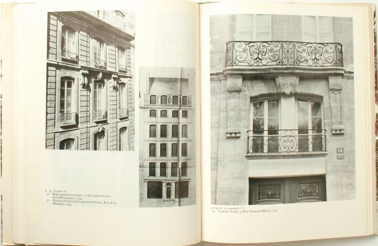 Stately Mansions, 18th Century Paris Architecture, First Edition For Sale 1