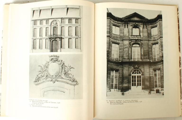 Stately Mansions, 18th Century Paris Architecture, First Edition For Sale 2