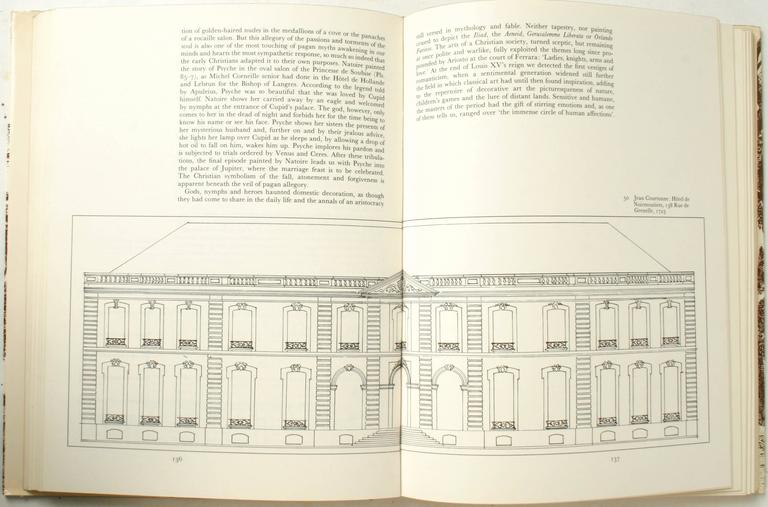 Stately Mansions, 18th Century Paris Architecture, First Edition For Sale 3