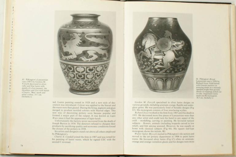 British Art Pottery. by A.W. Coysh. London: David and Charles Limited, 1976. First edition hardcover with dust jacket. 96 pp. A reference book of British Art Pottery from 1870-1940. Art pottery, or Studio Pottery is defined as 'pottery designed and
