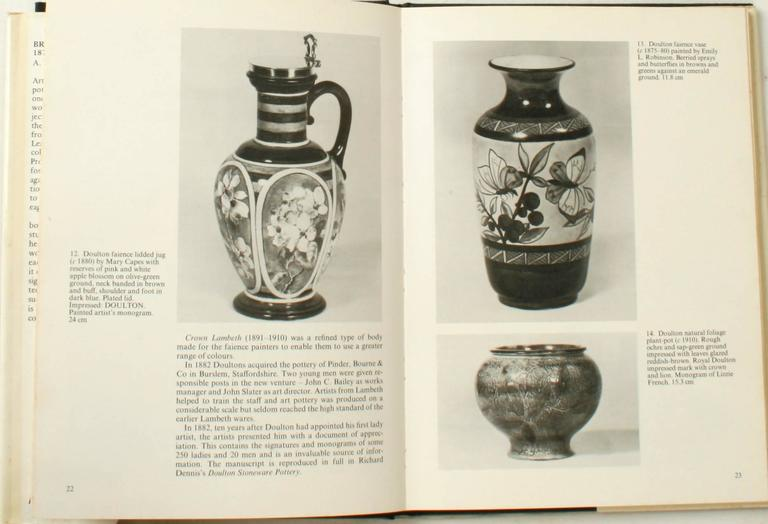 English British Art Pottery by A.W. Coysh, First Edition For Sale