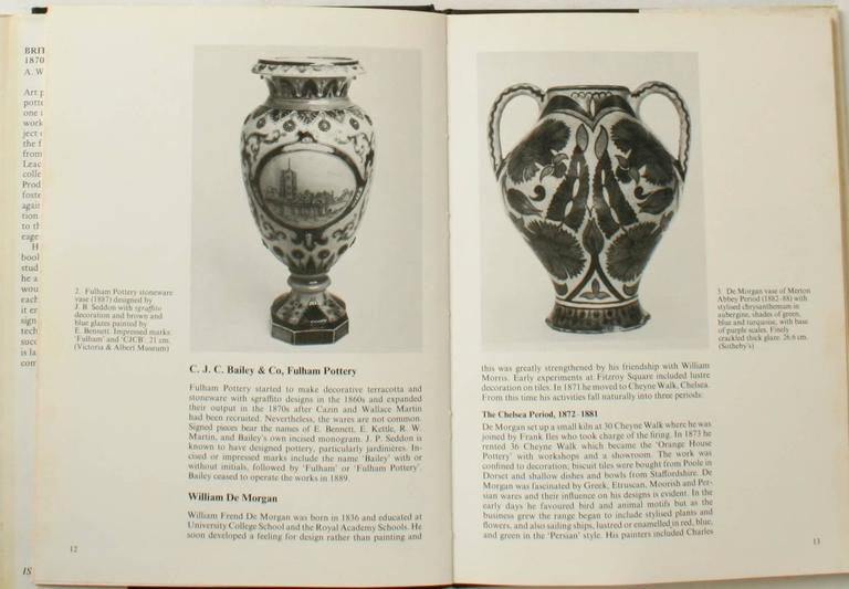 British Art Pottery by A.W. Coysh, First Edition In Good Condition For Sale In valatie, NY