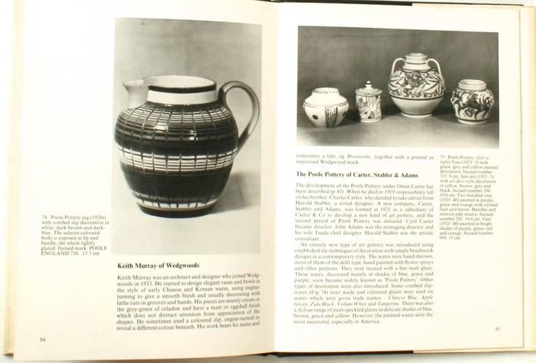 20th Century British Art Pottery by A.W. Coysh, First Edition For Sale
