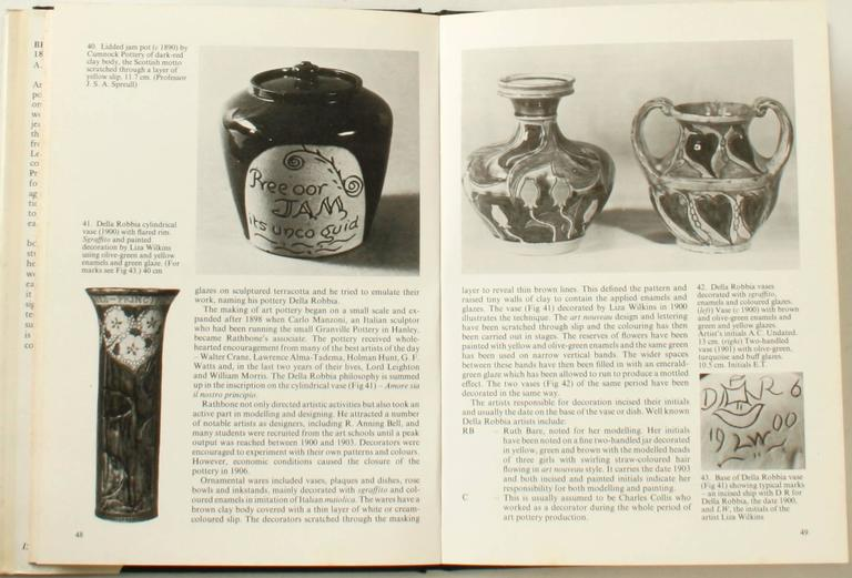 Paper British Art Pottery by A.W. Coysh, First Edition For Sale
