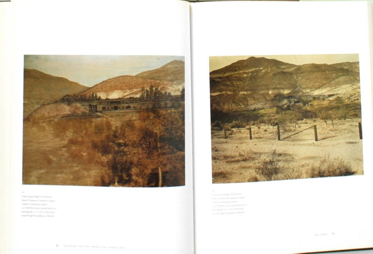 Late 20th Century Frank Lloyd Wright, Designs for an American Landscape, 1922-1932, 1st Edition For Sale