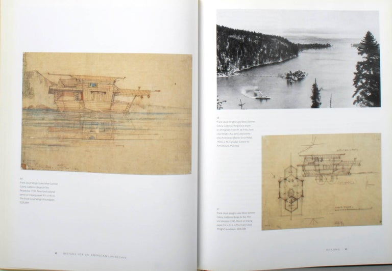 Frank Lloyd Wright, Designs for an American Landscape, 1922-1932, 1st Edition For Sale 3
