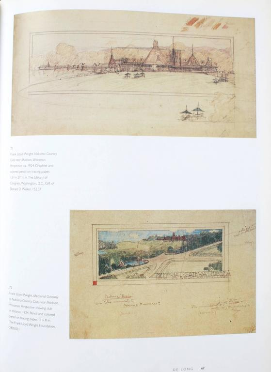 Frank Lloyd Wright, Designs for an American Landscape, 1922-1932, 1st Edition For Sale 5