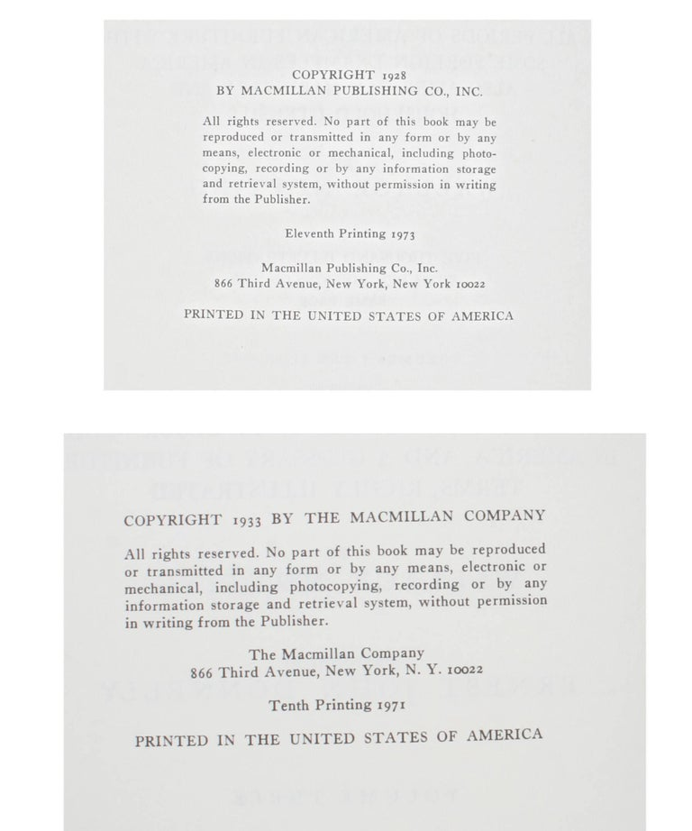 Furniture Treasury by Wallace Nutting 2 Volume Set For Sale 4
