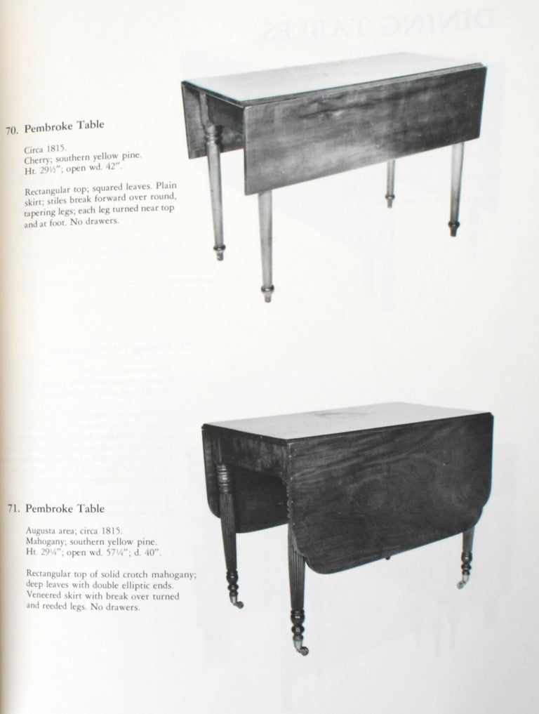 20th Century Two Catalogues on the Furniture of Georgia For Sale