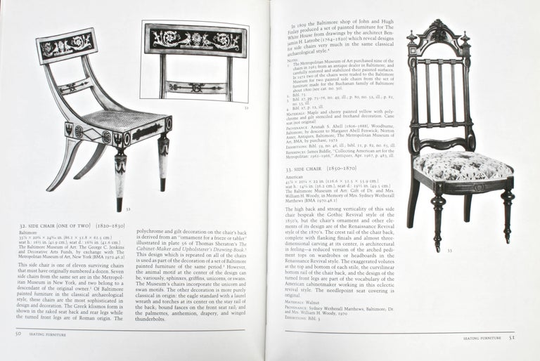 American Furniture 1680-1880, Collection From the Baltimore Museum of Art For Sale 1