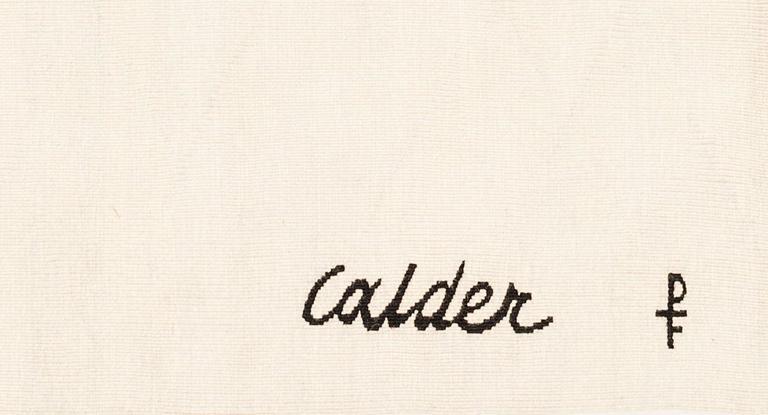 "Tapestry by Alexander Calder ""Ice Rink"" 2"