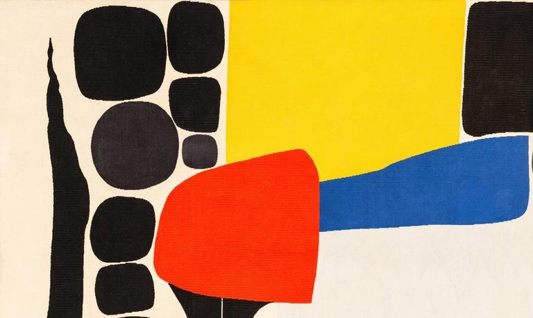 "Tapestry by Alexander Calder ""Ice Rink"" 5"