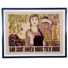 Vetnamese Propaganda Poster