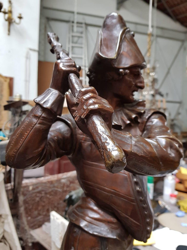Early 20th Century Bronze Sculpture
