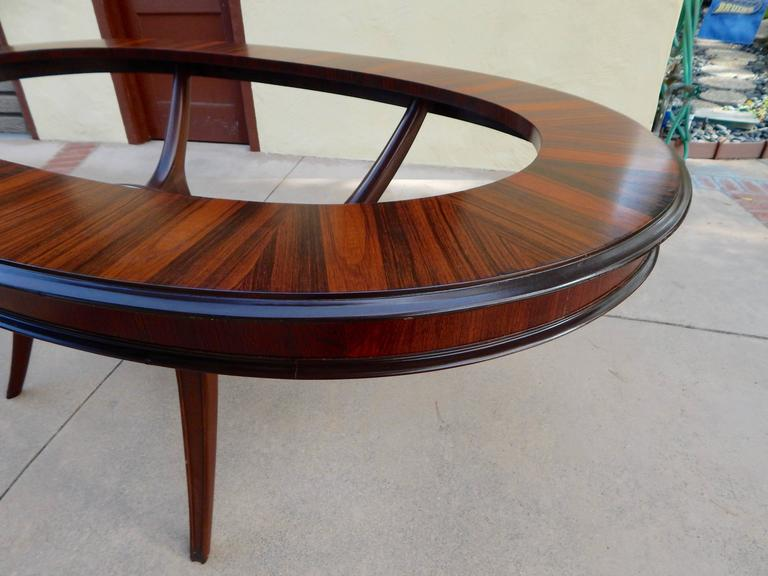 Argentine Mid Century Modern Dining Table in Wood and  : ed834b37318a4e5294e261f847210cd0l from www.1stdibs.com size 768 x 576 jpeg 48kB