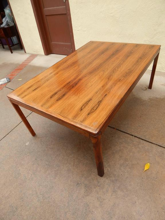 Genial Danish Mid Century Modern Rosewood Coffee Table By Tingstroms In Excellent  Condition For Sale In