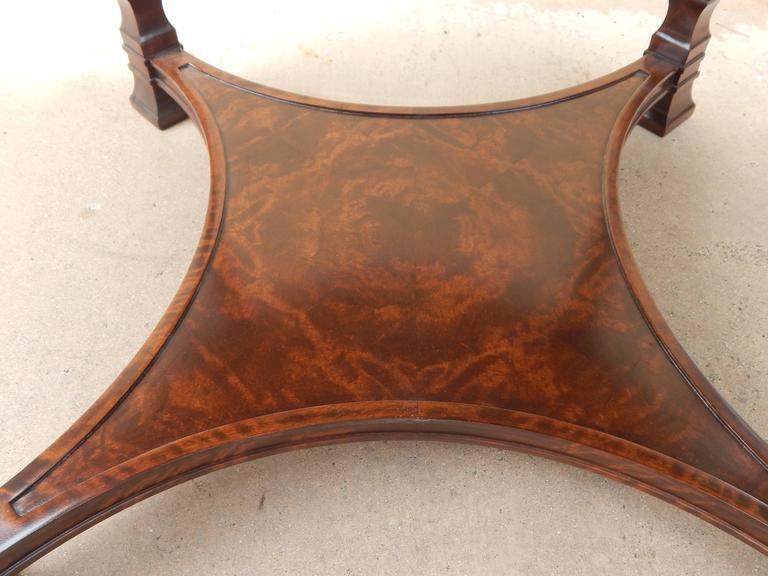 Swedish Art Deco Inlaid Table-Carl Malmsten for Smf, circa 1920 For Sale 3