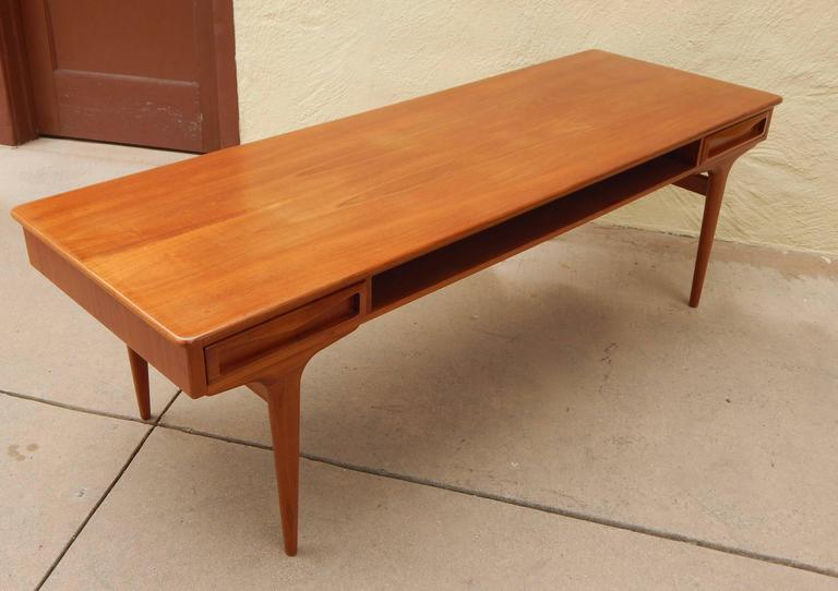 Mid-Century Modern Coffee Table by Johannes Andersen, Denmark, 1960s For Sale