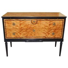 Biedermeier Revival Chest with Drink Trays, circa 1920