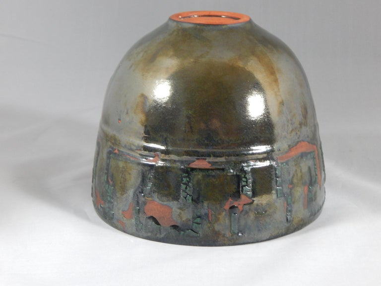 Contemporary Seelbach Ceramic Vessel by Andrew Wilder, 2018 For Sale
