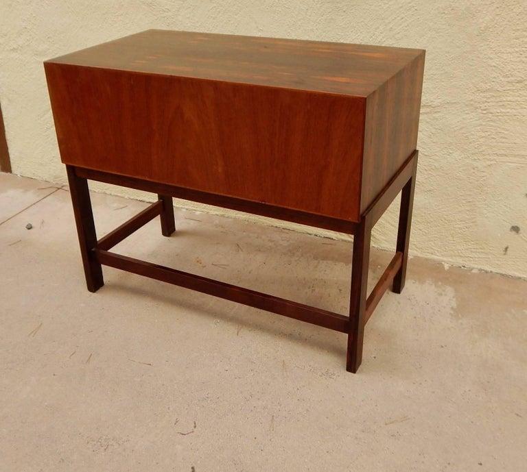 Danish Mid-Century Modern Rosewood Storage Chest, circa 1960 For Sale 2