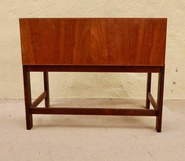 Danish Mid-Century Modern Rosewood Storage Chest, circa 1960 For Sale 3