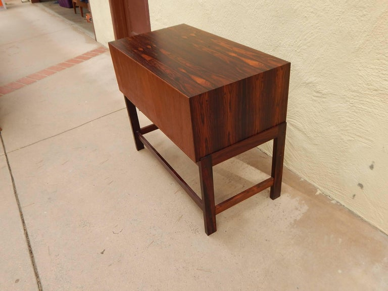 Danish Mid-Century Modern Rosewood Storage Chest, circa 1960 For Sale 6