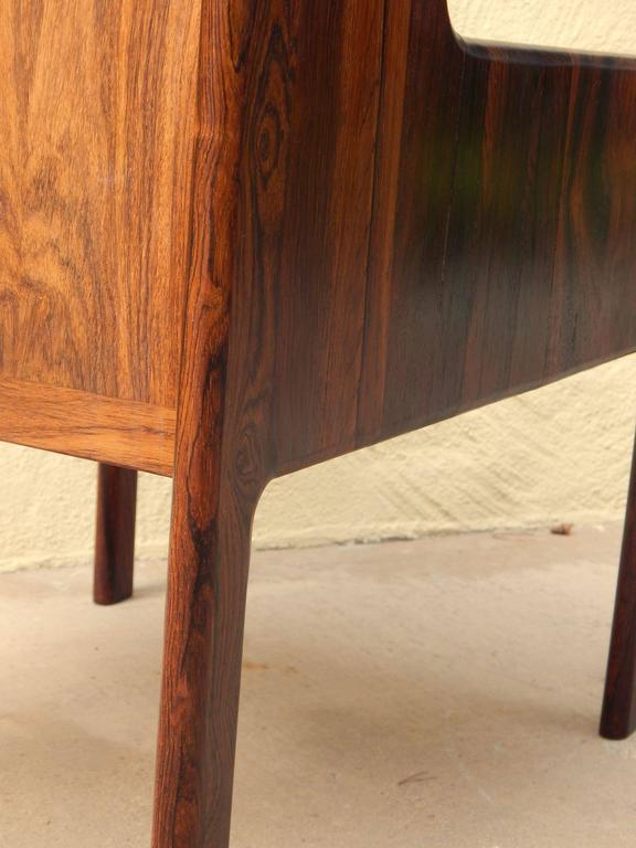 Danish Mid-Century Modern Rosewood Side Table, circa 1960 For Sale 2