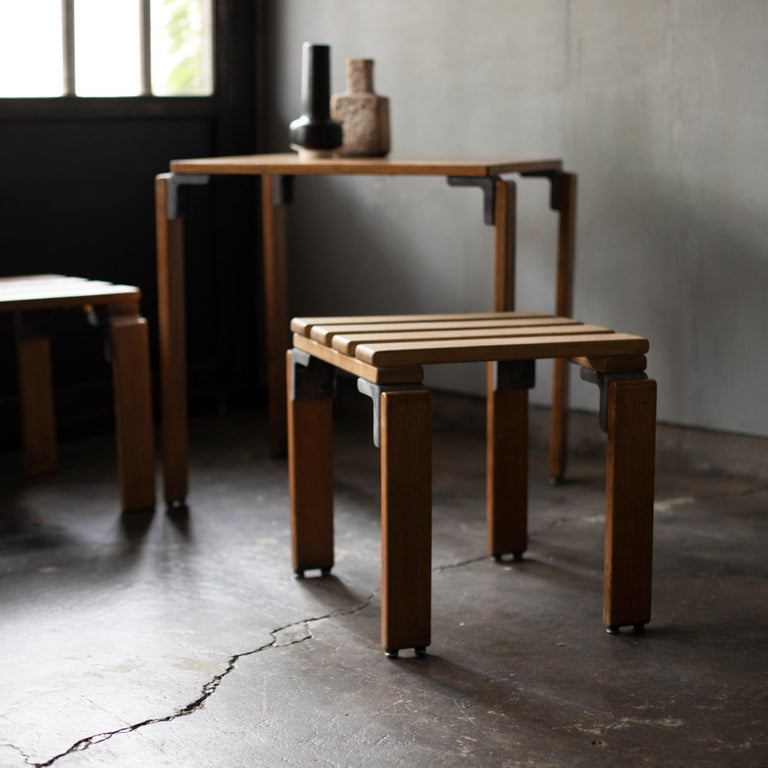 Stools by Georges Candilis and Anja Bromstedt For Sale 5