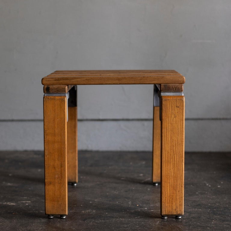 Mid-Century Modern Stools by Georges Candilis and Anja Bromstedt For Sale