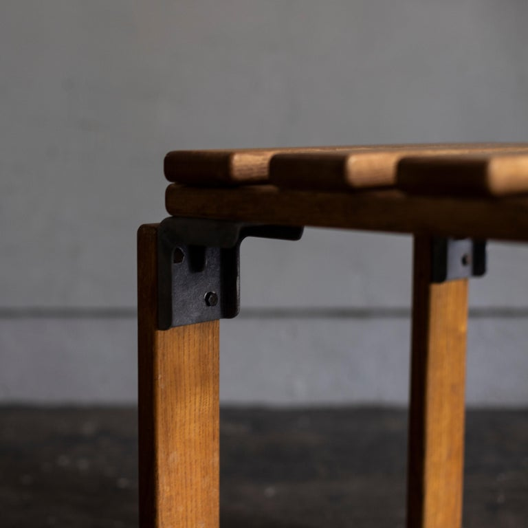Stools by Georges Candilis and Anja Bromstedt In Good Condition For Sale In Tokyo, JP