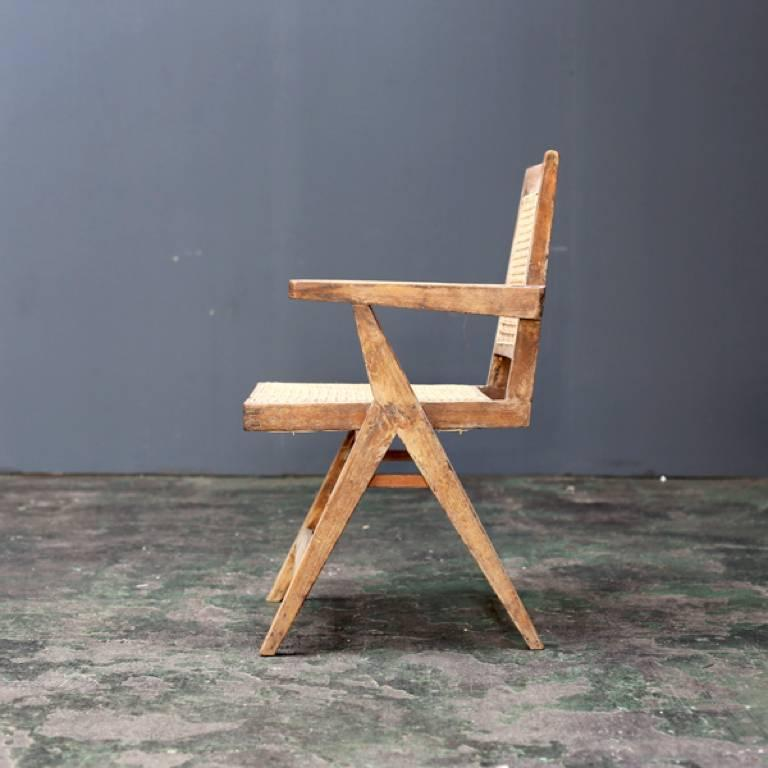 Y Frame Chair by Pierre Jeanneret In Good Condition For Sale In Tokyo, JP
