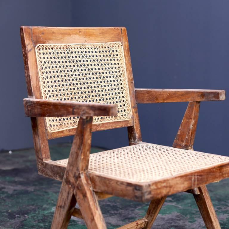 Mid-Century Modern Y Frame Chair by Pierre Jeanneret For Sale
